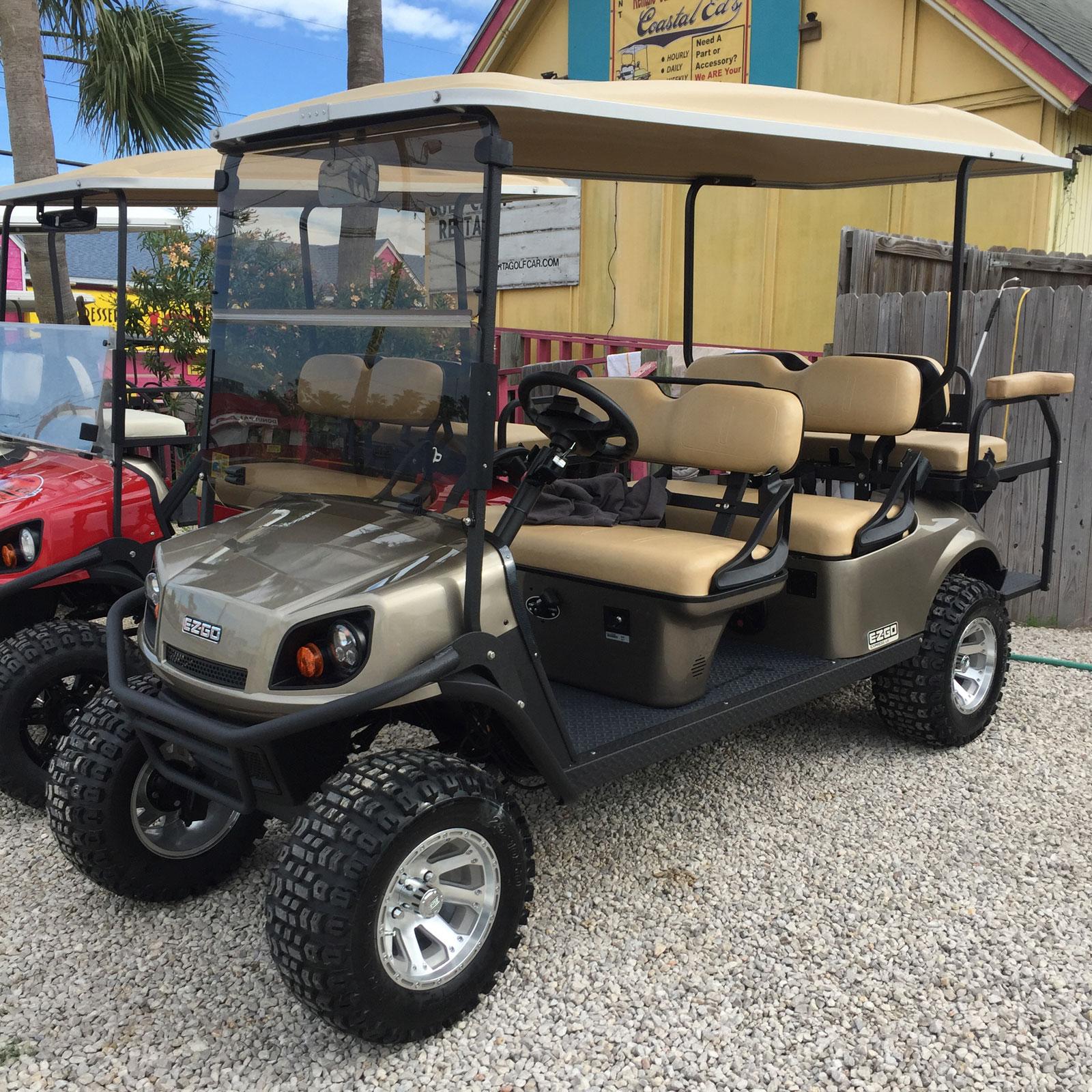 Almond EZGO Golf Car
